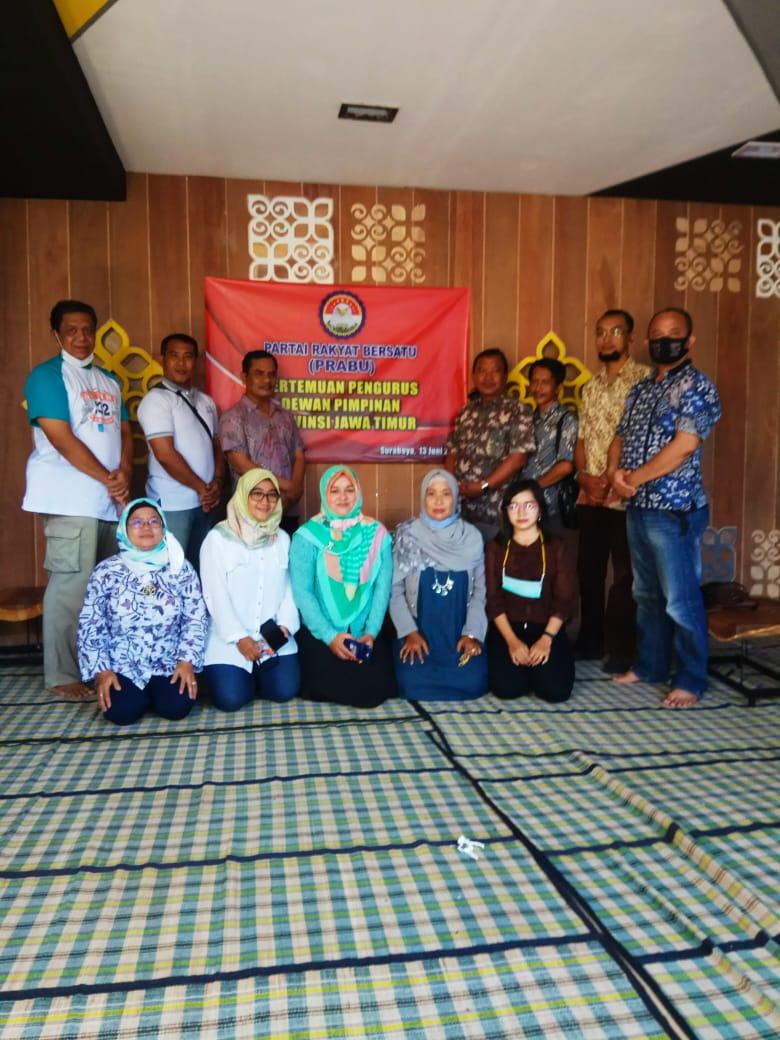 Pertemuan Pengurus DPP Jawa Timur Prabu